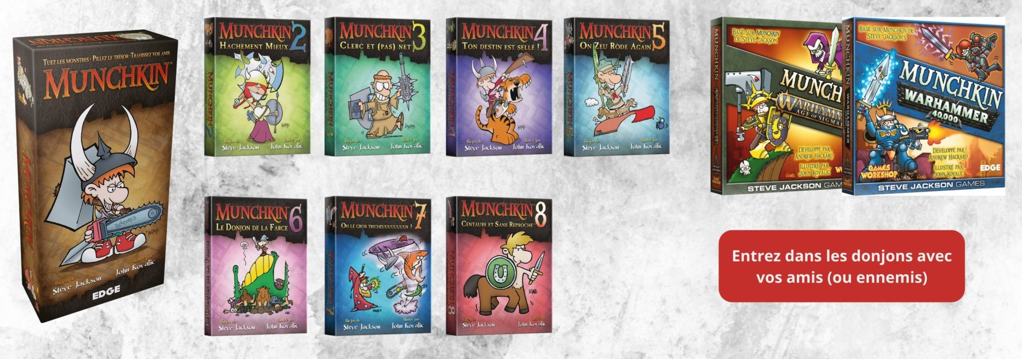 Collection Munchkin